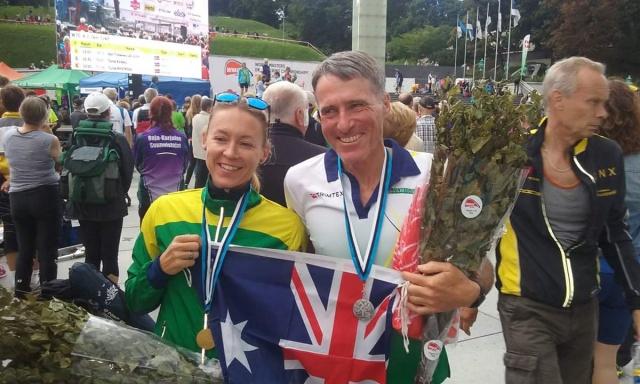 Happy Aussie WMOC Sprint Medallists!