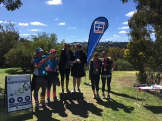 Medal presentations of the 2017 Victorian Teachers Games at Yuille Homestead on the morning of 26th September