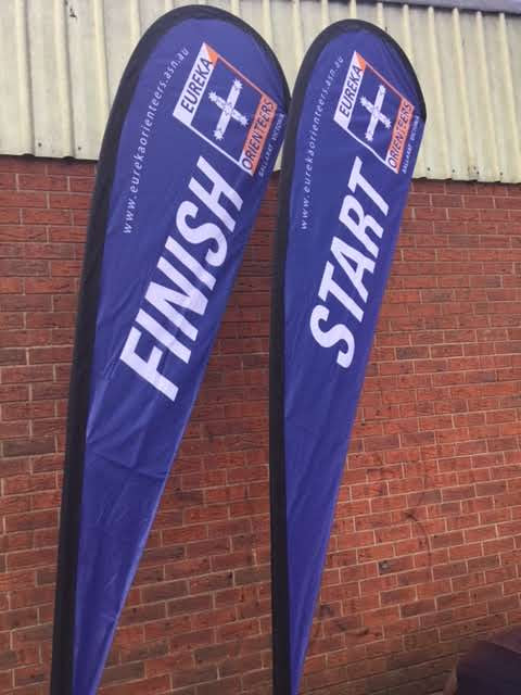 New Start and Finish Banners
