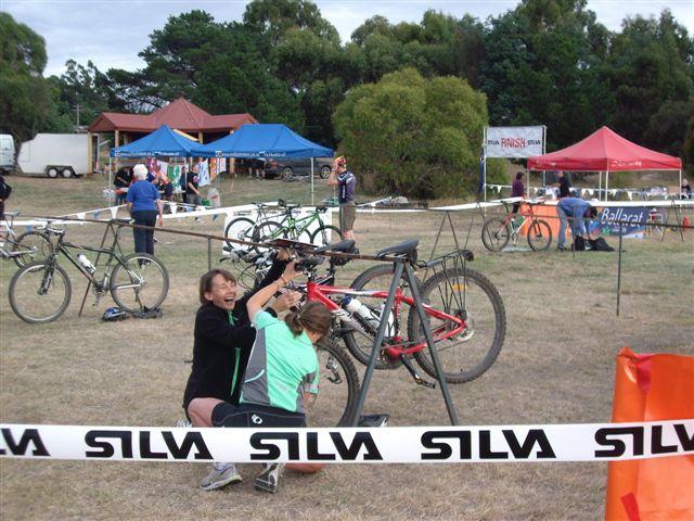Silva DuO 26 Jan 2010 - Bike Changeover