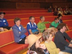 aMAZEing Ballarat - everyone of the 17 teams were all ears as Mark read out the directions