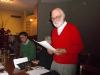 Tom Norwood Speaking at his Testimonial Dinner
