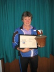 Jenny Bourne 2014 Jenni Jamieson Award Winner
