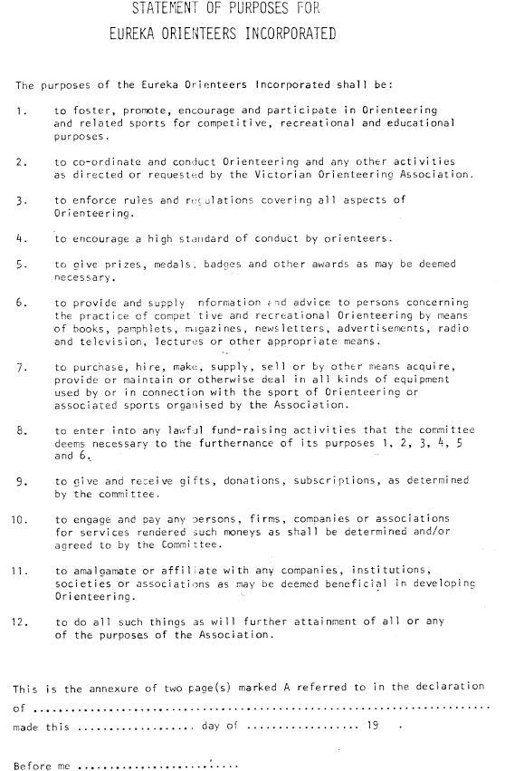 Eureka Constitution 1975