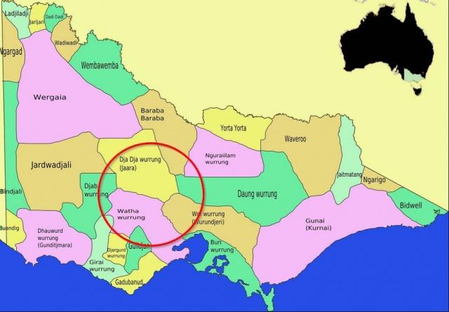 Aboriginal Country Map