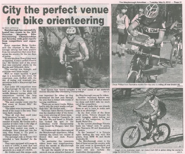 Maryborough Advertiser 8 May 2012
