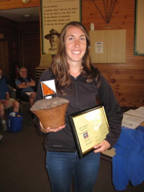 Aislinn Prendergast - 2013 Jenni Jamieson Award Winner