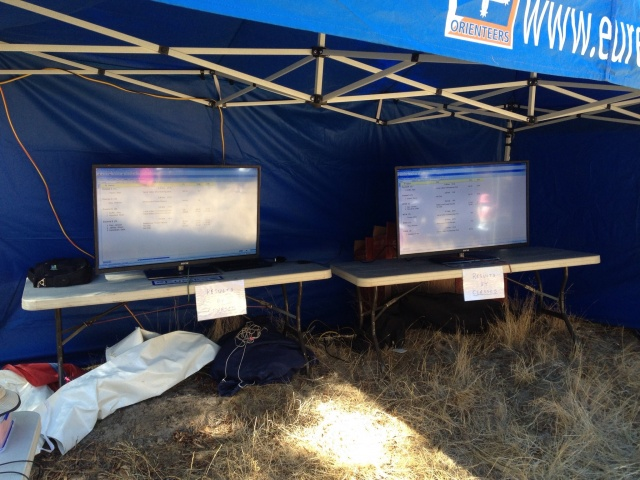 TV screens ready to go SS2 Mt Beckworth