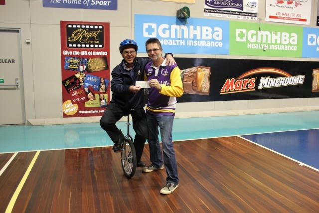 aMAZEing Ballarat - 2014 Cheque Handover to Balladonors